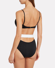 Blair Bandeau Two-Tone Bikini Set, BLACK, hi-res