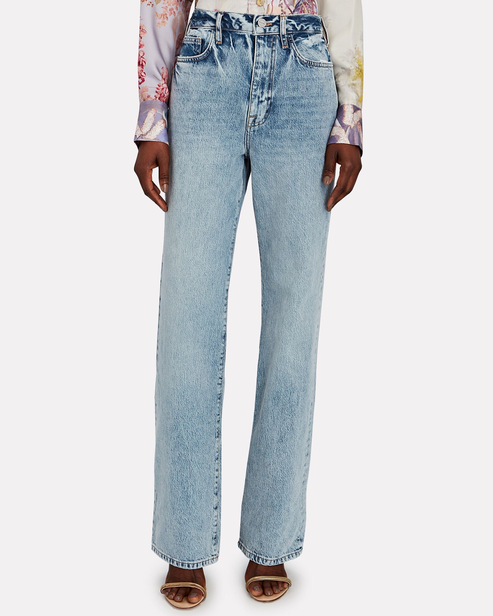 Le Jane Relaxed Straight-Leg Jeans, RICHLAKE, hi-res