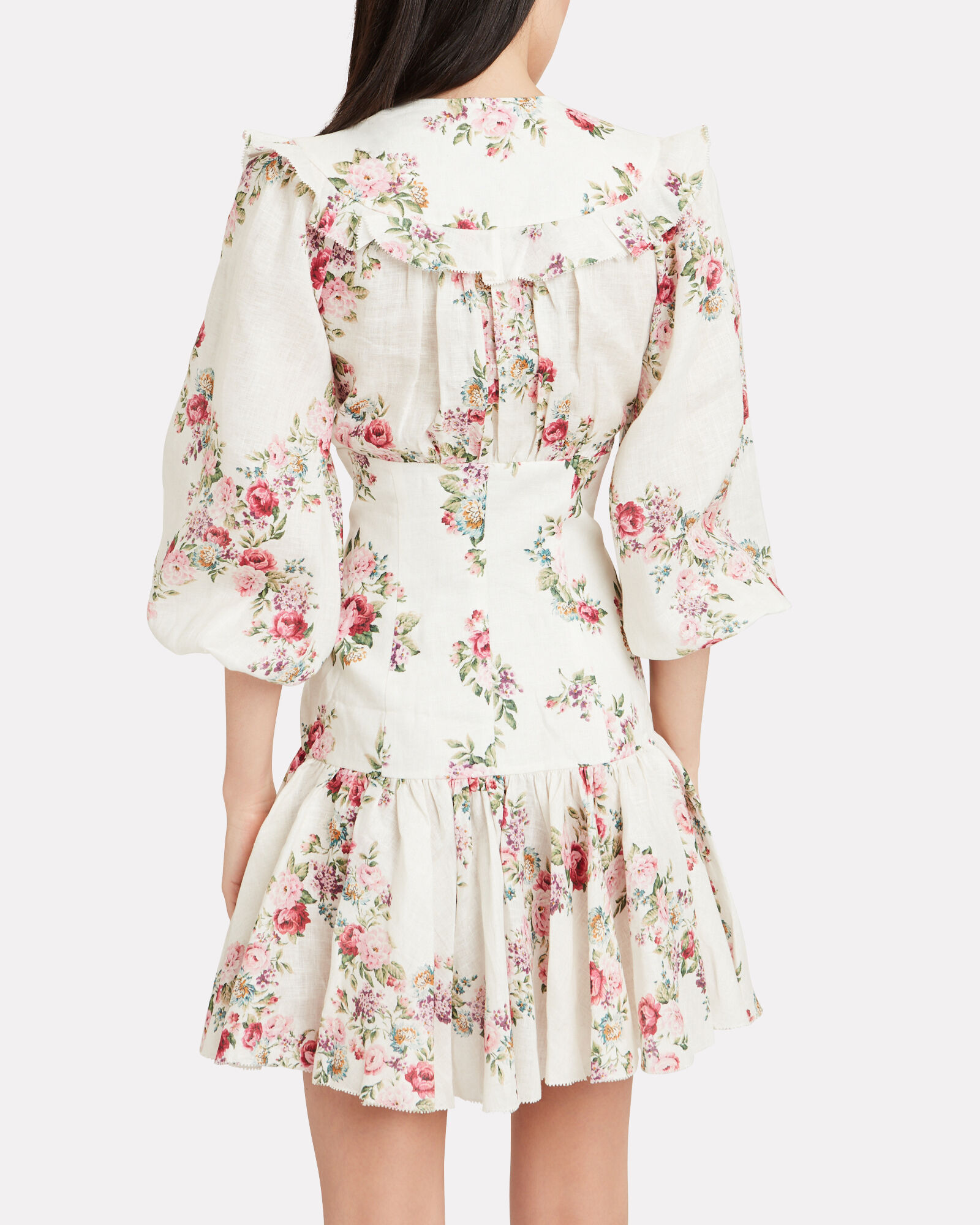 Honour Corset Floral Mini Dress, MULTI, hi-res