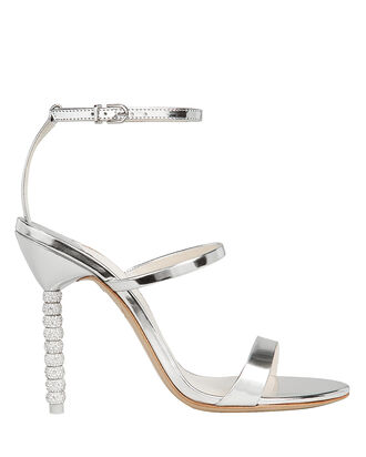 Rosalind Crystal Stiletto Sandals, SILVER, hi-res
