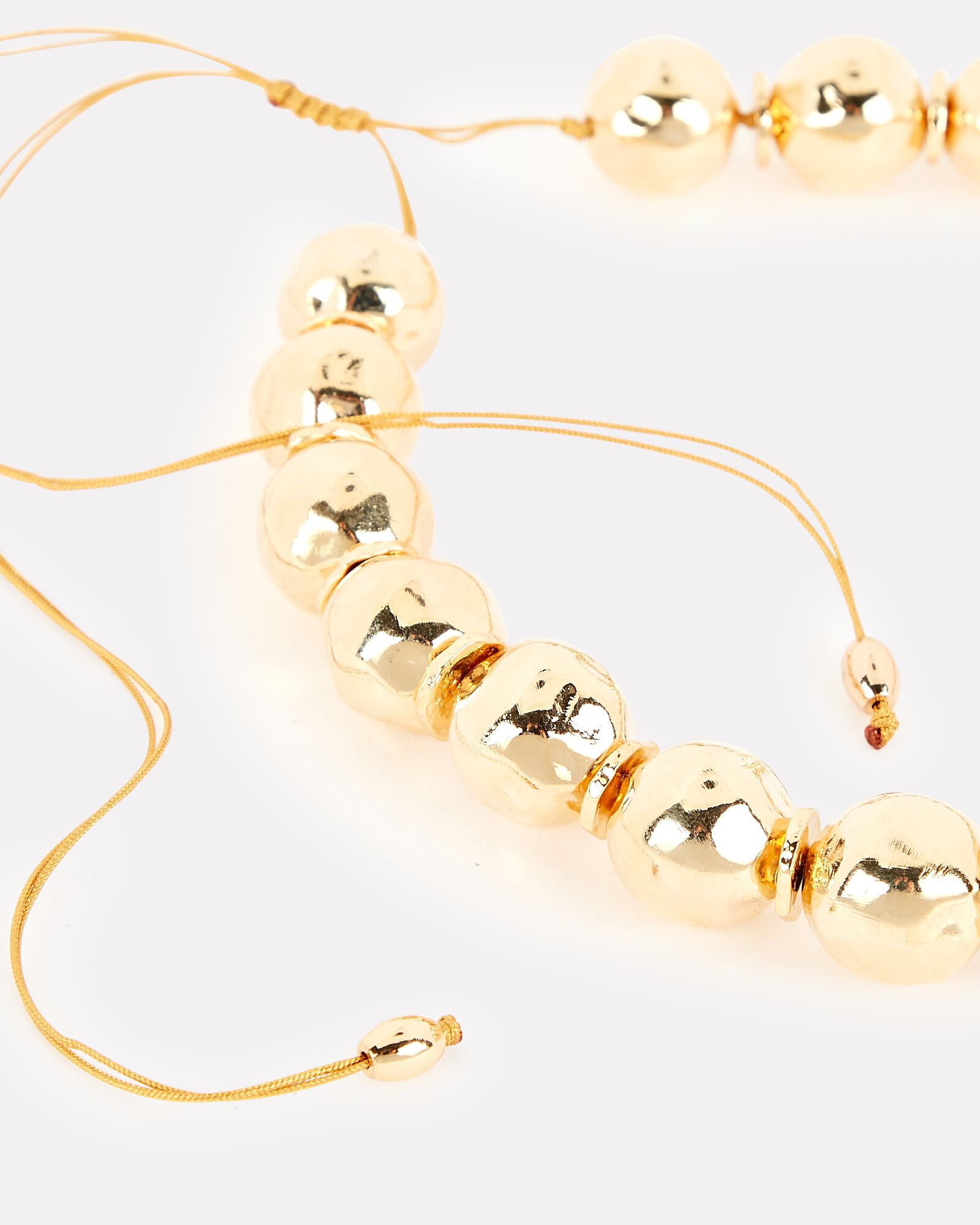 Pure Light Small Globe Choker Necklace, GOLD, hi-res