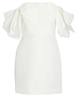 Selkin Off-The-Shoulder Mini Dress, IVORY, hi-res