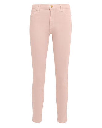 Alana Light Pink Skinny Jeans, LIGHT PINK, hi-res