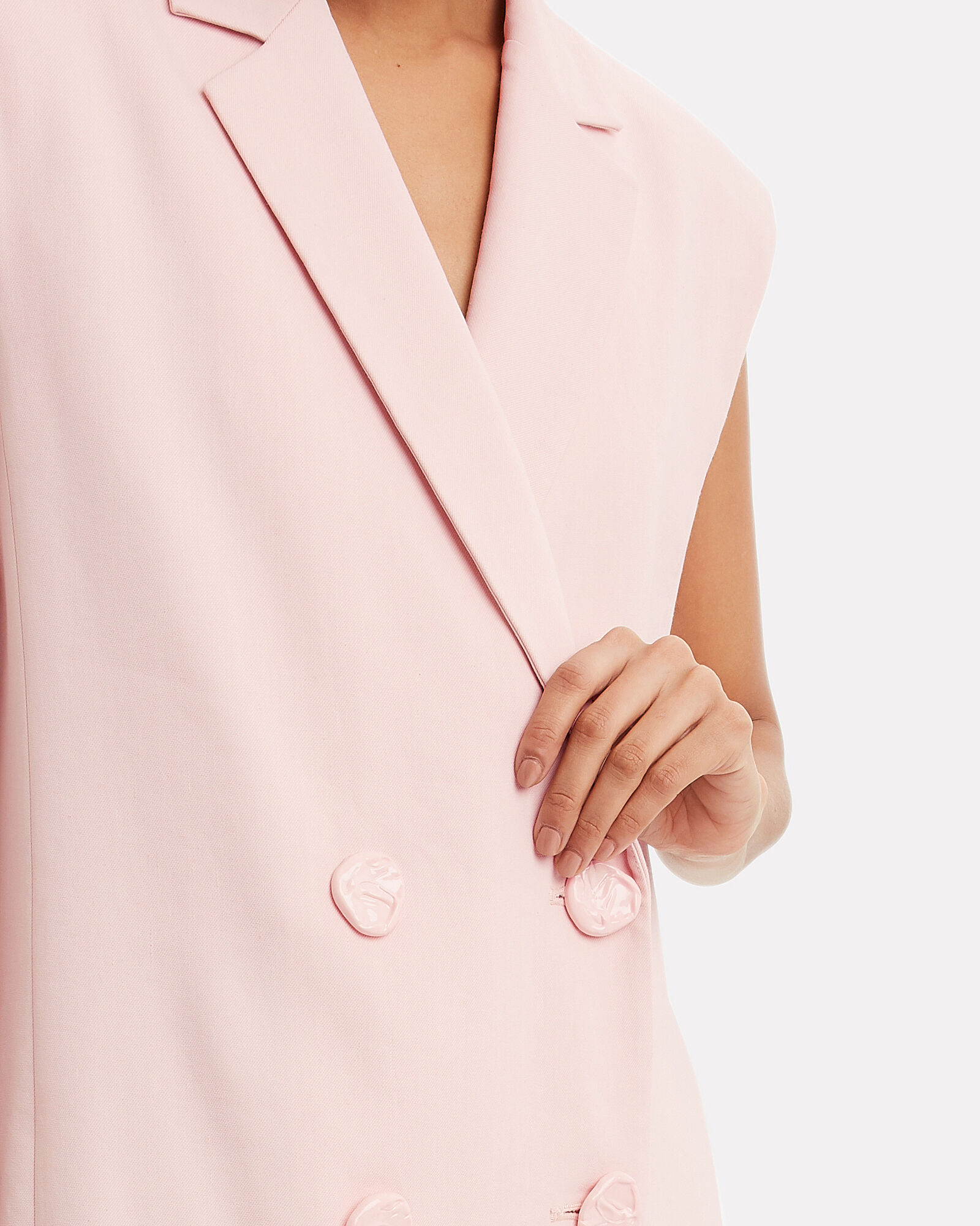 Double Breasted Blazer Dress, BLUSH, hi-res