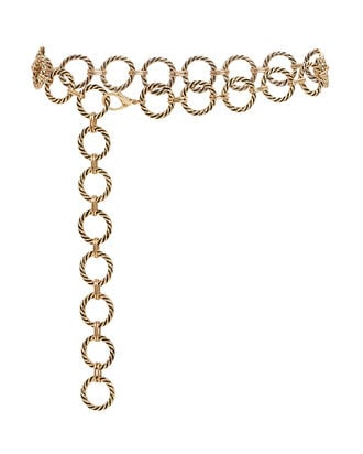 Nadia Chain Belt, GOLD, hi-res