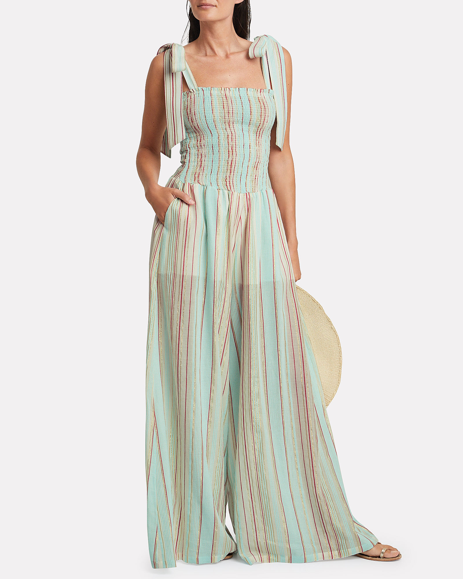 Tul Striped Jumpsuit, POWDER BLUE/STRIPE, hi-res