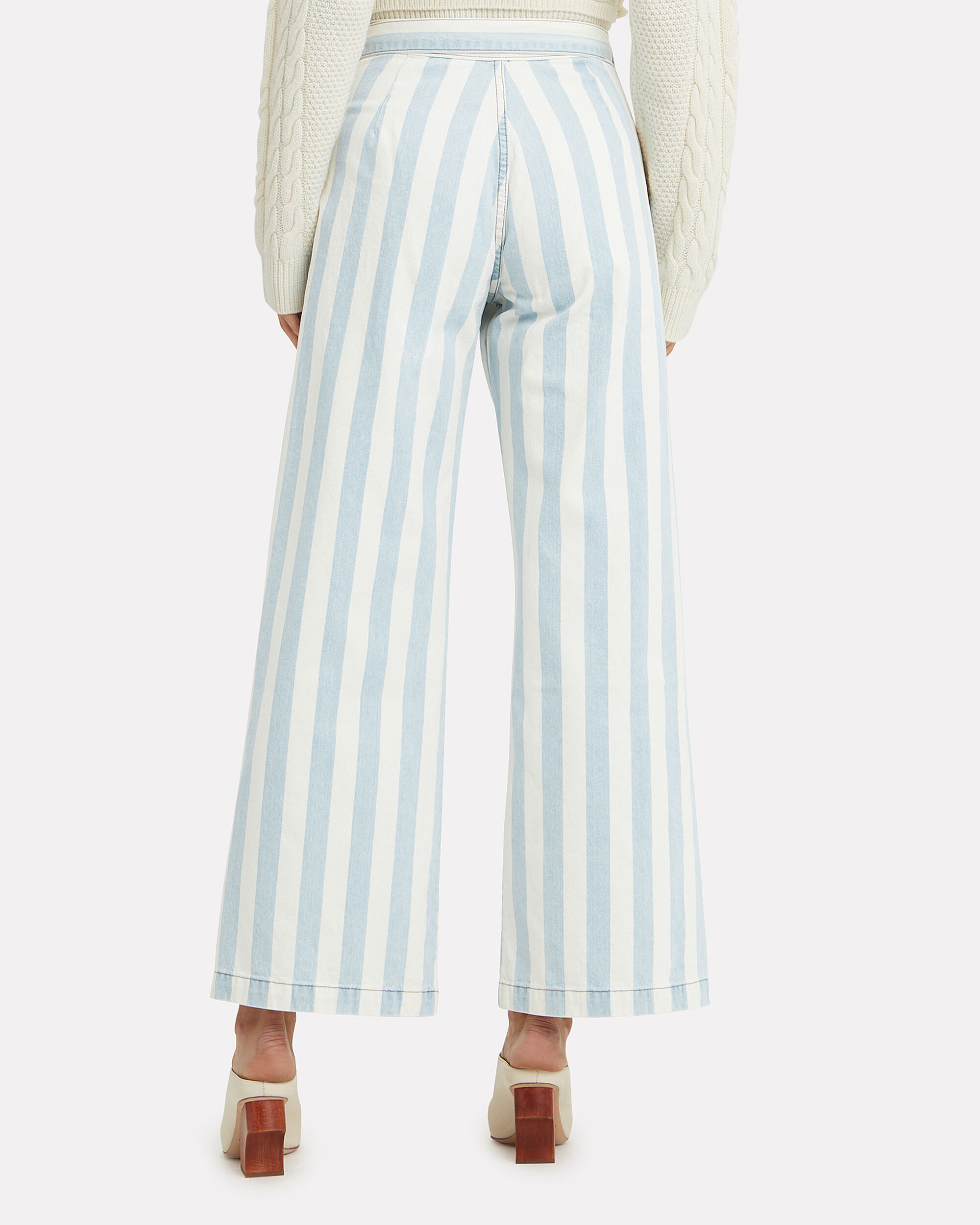 The Charley Casablanca Jeans, LIGHT BLUE/WHITE, hi-res