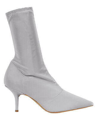 Reflective Grey Booties, CHROME GREY, hi-res