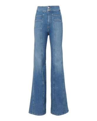Farrah Wide Leg Pants, DENIM, hi-res