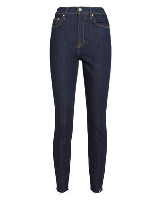 Kendall High Rise Skinny Jeans, DARK WASH DENIM, hi-res