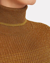 Zayn Gradient Turtleneck Top, GOLD, hi-res