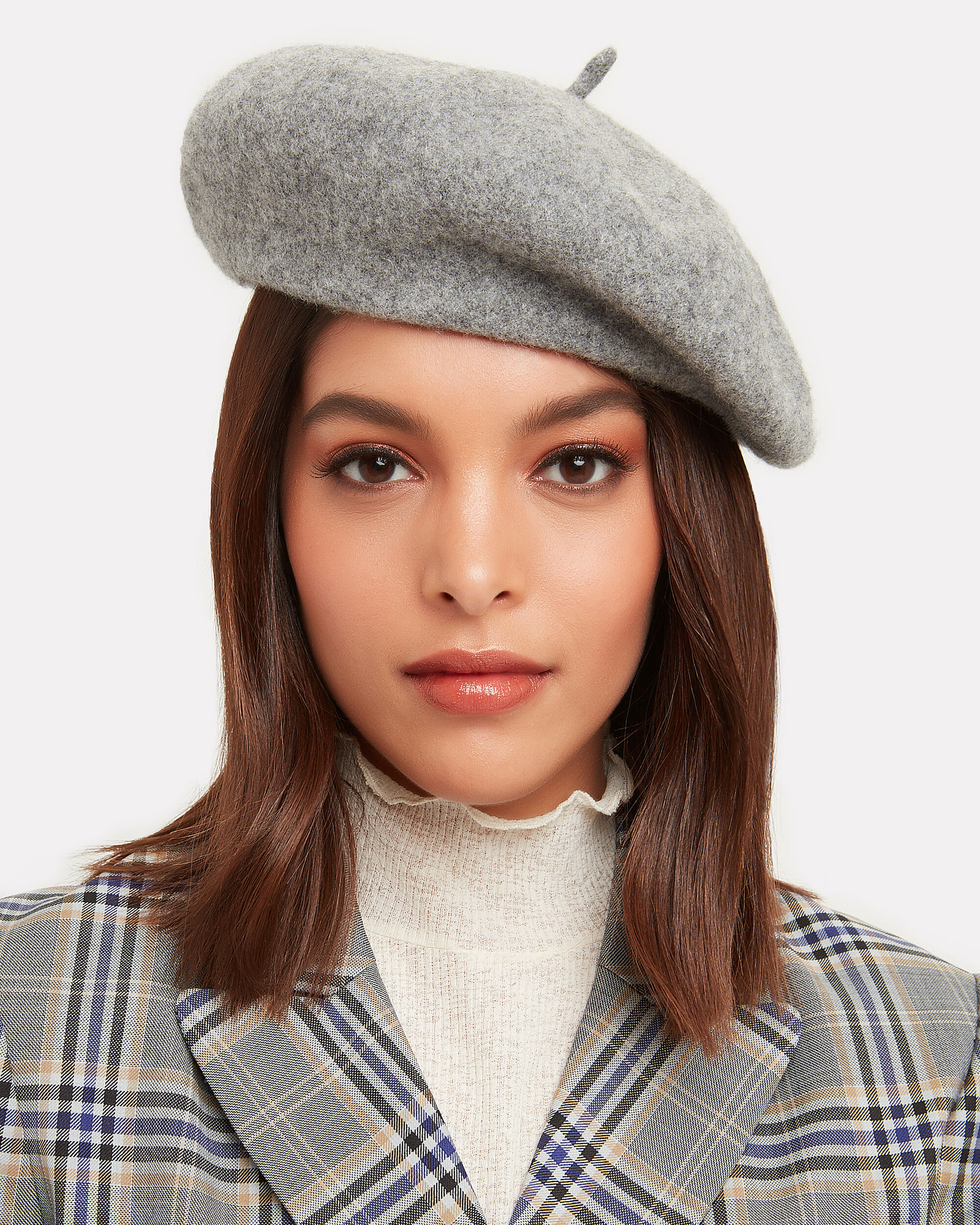 Grey Beret, GREY, hi-res