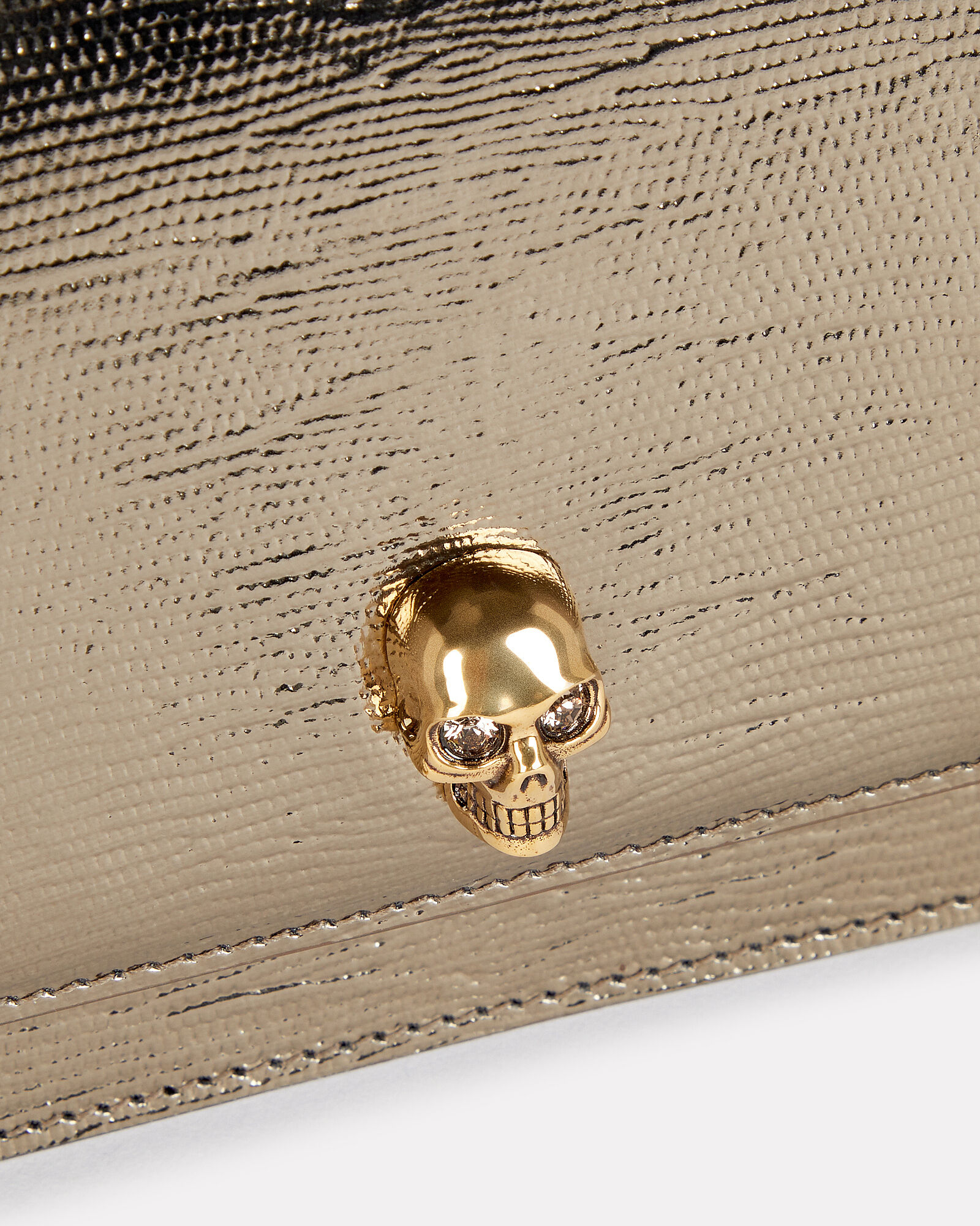 Small Skull Leather Bag, , hi-res