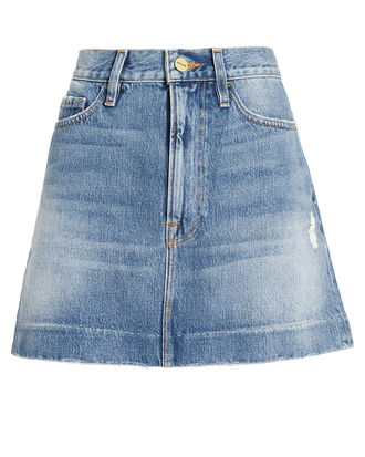 Kildare Mini Skirt, DENIM, hi-res