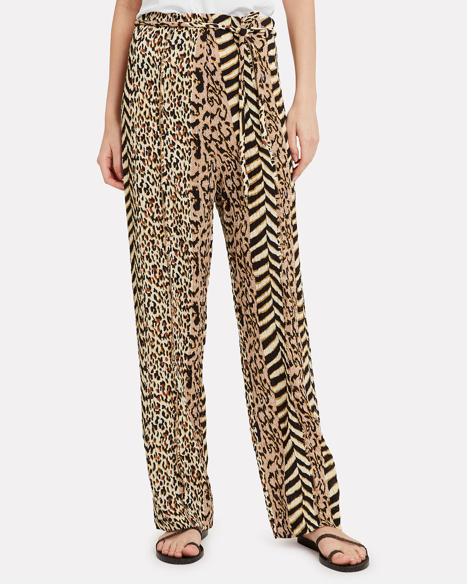Luma '60's Animal Print Pants, MULTI, hi-res