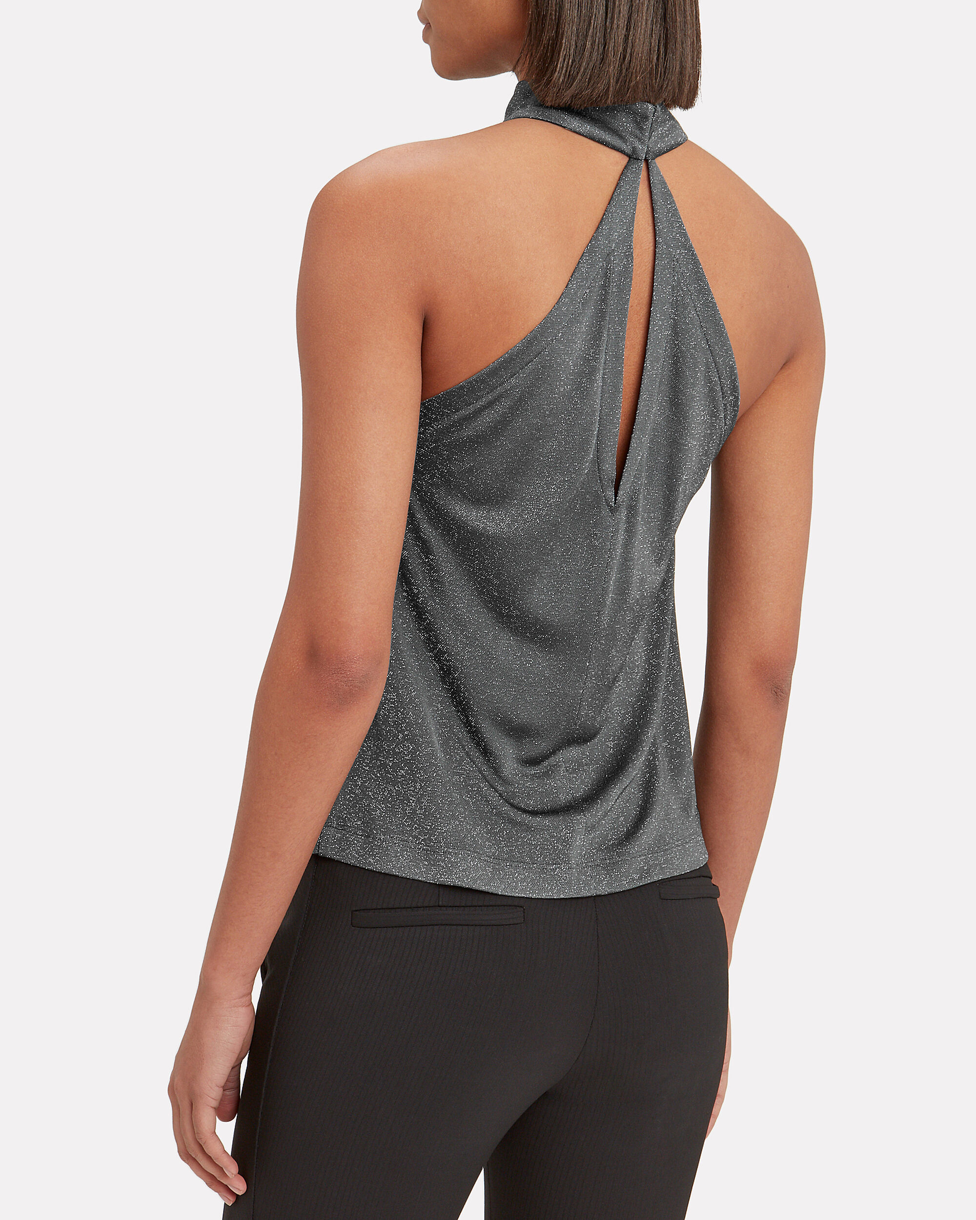 Choker Top, GREY, hi-res
