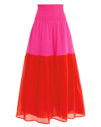 Mai Colorblock Maxi Skirt, MULTI, hi-res