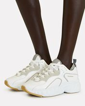 Manhattan Leather Sneakers, WHITE, hi-res