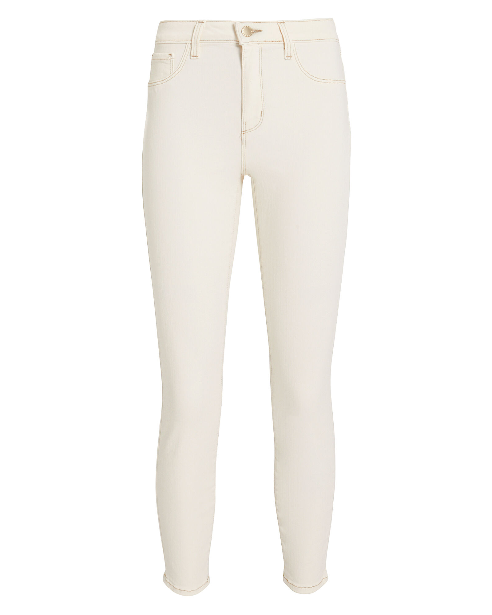 Margot High-Rise Skinny Jeans, BEIGE, hi-res