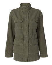 Lori Military Jacket, OLIVE/ARMY, hi-res