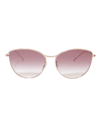Rayette Rounded Cat Eye Sunglasses, ROSE, hi-res