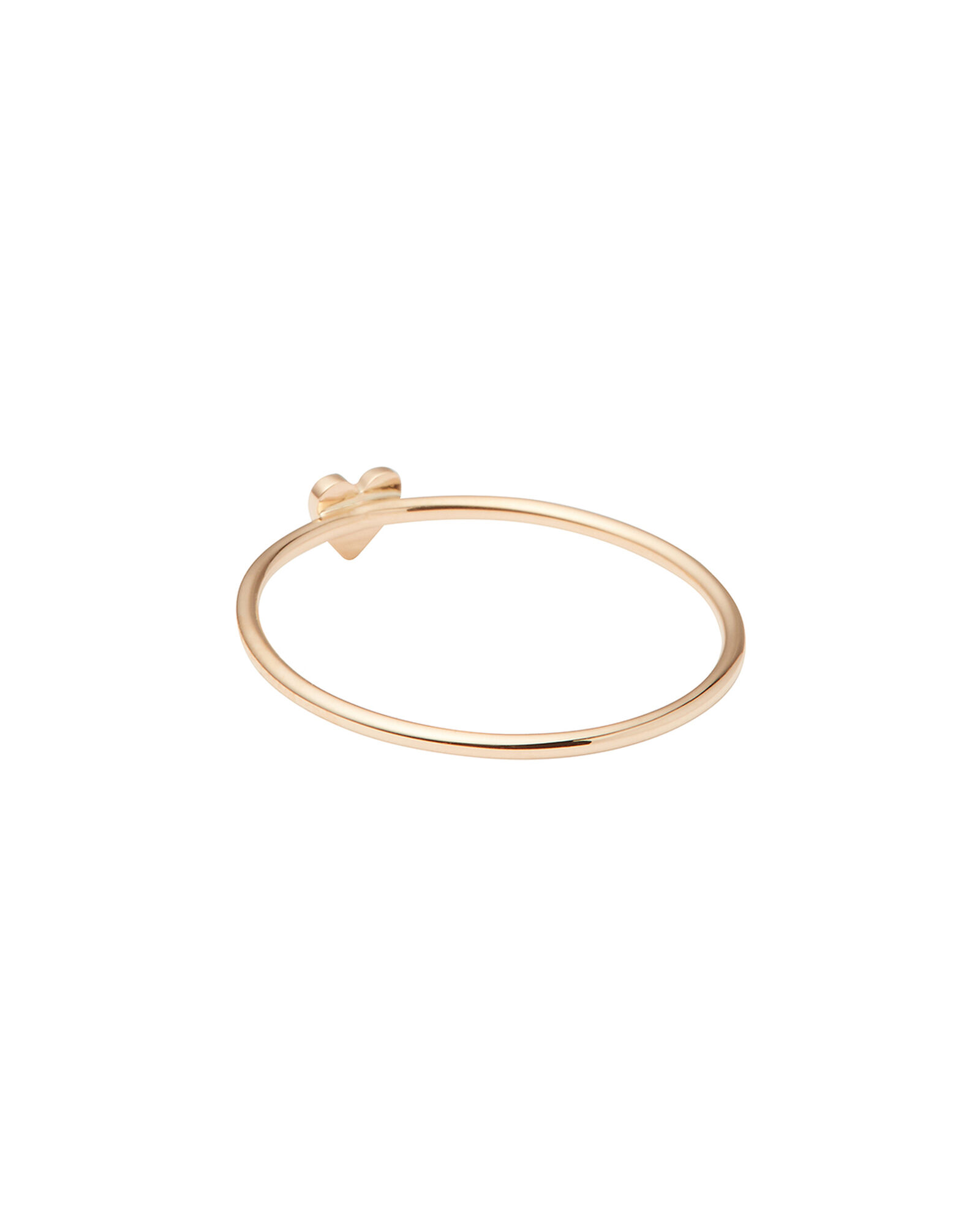 Itty Bitty Pavé Heart Ring, GOLD, hi-res