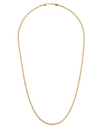 Celine Chain-Link Necklace, GOLD, hi-res