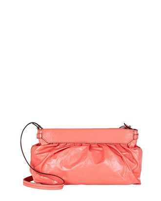 Luzes Soft Leather Crossbody Pouch, PINK, hi-res