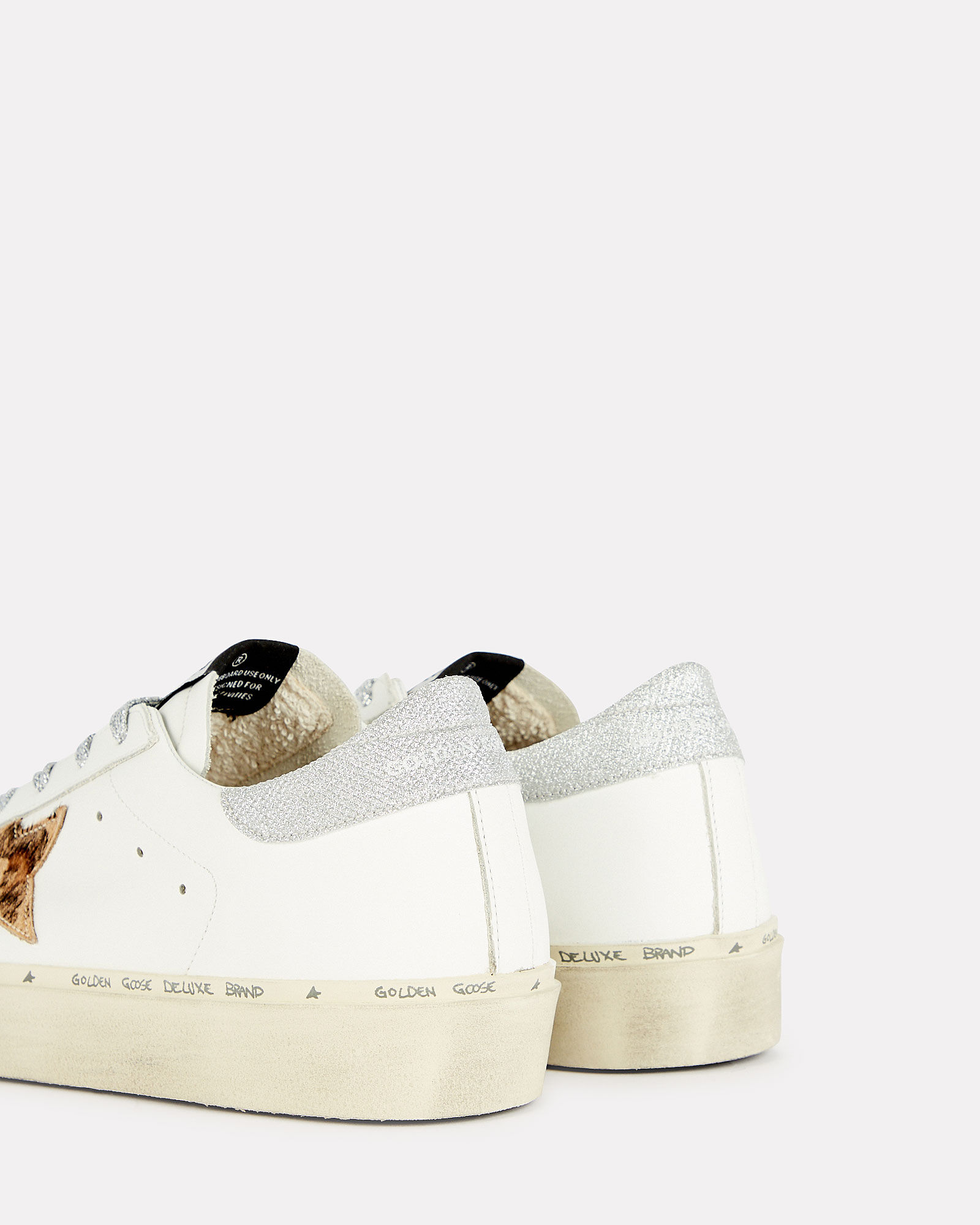 Superstar Lurex-Trimmed Low-Top Sneakers, WHITE, hi-res