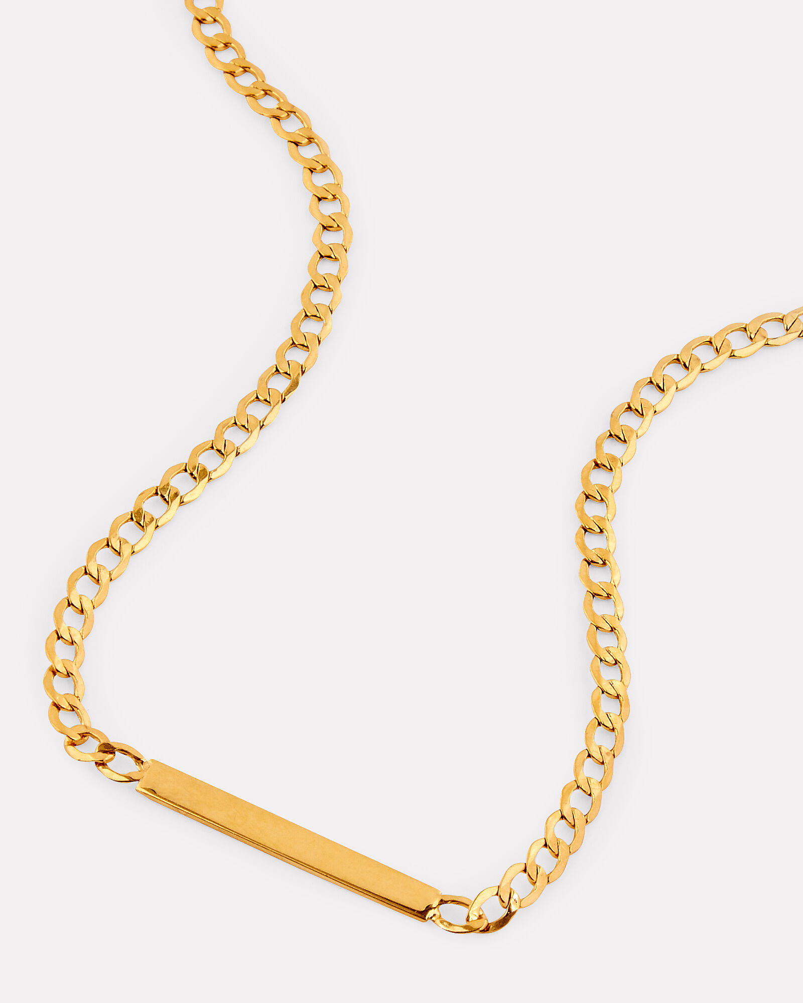 Havana ID Chain Necklace, GOLD, hi-res