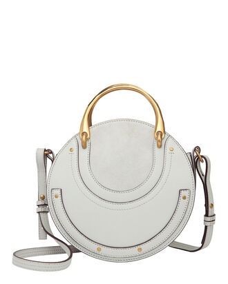 Pixie Circle Shoulder Bag, GREY, hi-res