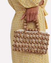Cora Beaded Tote, BEIGE, hi-res