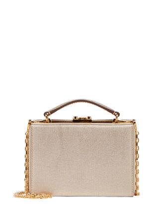 Grace Mini Box Bag, GOLD, hi-res