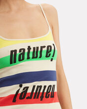Nature Colorful Striped Tank, RAINBOW/STRIPE, hi-res