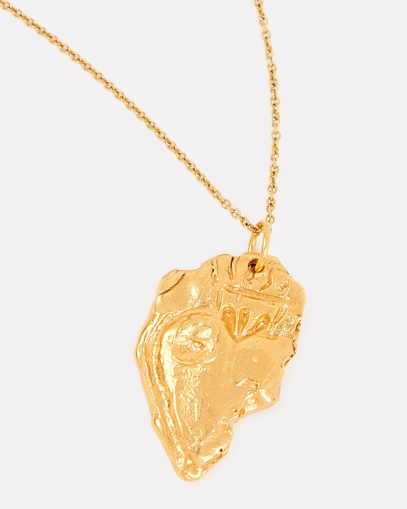 The Sicilian Bleeding Heart, Chapter i Necklace, GOLD, hi-res