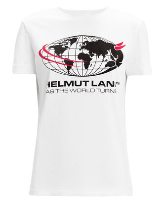 World Turns T-Shirt, WHITE, hi-res