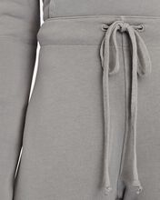 Kiki Cropped Wide-Leg Sweatpants, GREY, hi-res