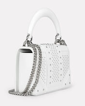 Ring Box Shoulder Bag, WHITE, hi-res