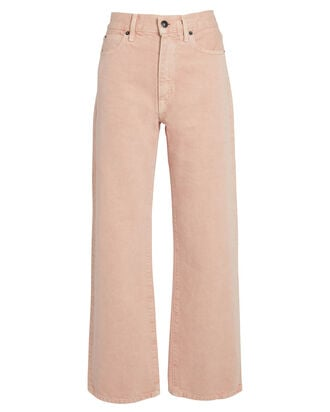 Grace High-Rise Ankle Jeans, DUSTY ROSE, hi-res