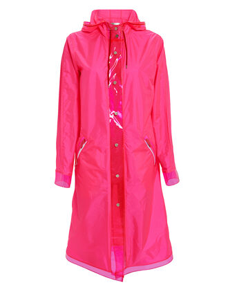 The Seaford Raincoat, NEON PINK, hi-res