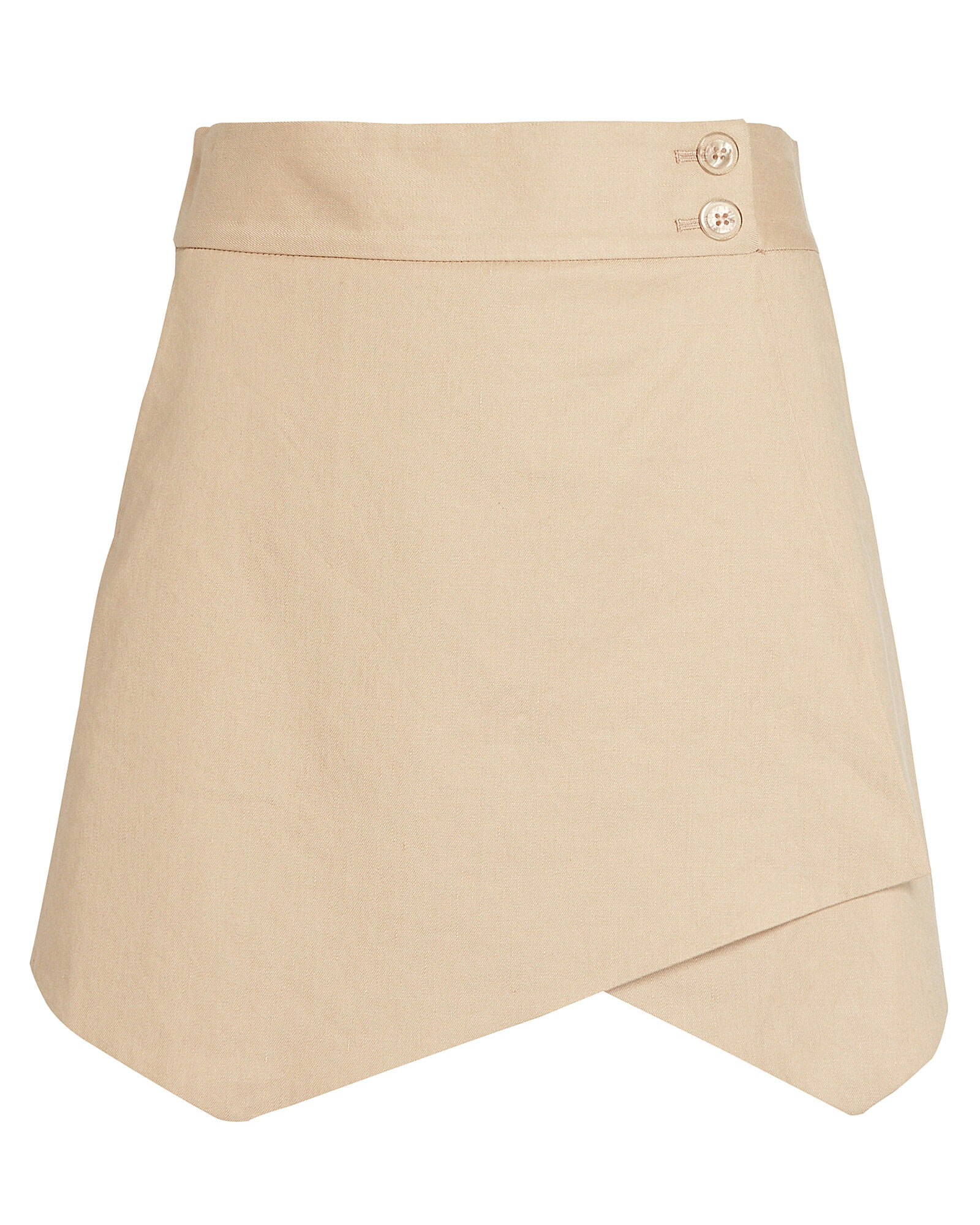 Thomas Wrap Skort, BEIGE, hi-res