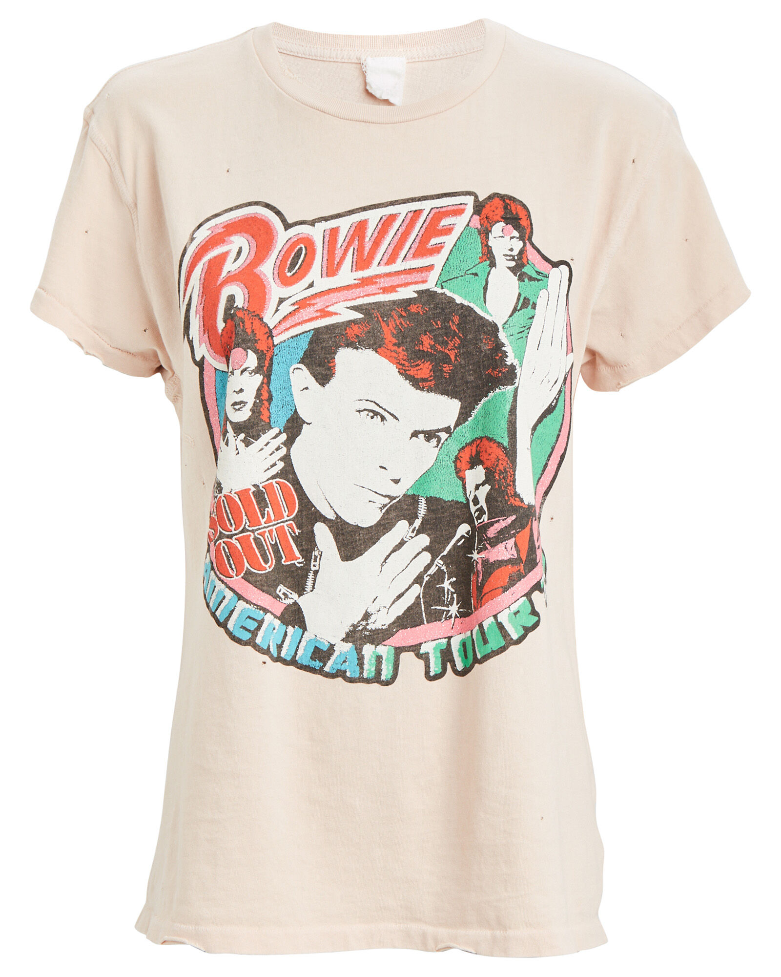Bowie Graphic T-Shirt, PINK, hi-res