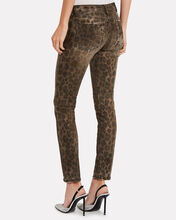Kate Distressed Leopard Skinny Jeans, MULTI, hi-res