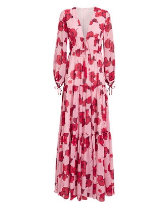 Freya Hibiscus Maxi Dress, MULTI, hi-res