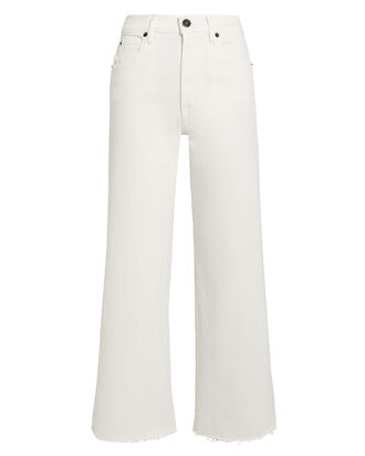 Grace Wide Leg Jeans, WHITE, hi-res