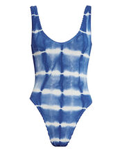 Maria One-Piece Tie-Dye Swimsuit, BLUE TIE-DYE, hi-res