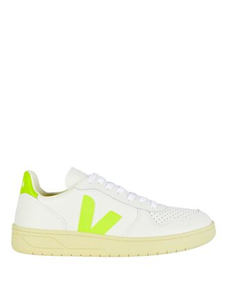 V-10 Low-Top Sneakers, WHITE, hi-res