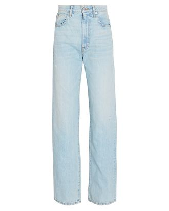 London High-Rise Straight-Leg Jeans, LOVE SONG, hi-res