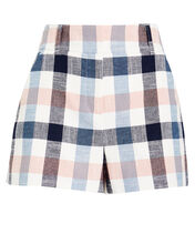 Ilene Gingham Shorts, MULTI, hi-res