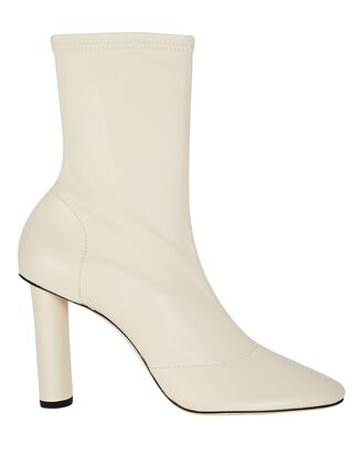 Glove 90 Leather Ankle Boots, STONE, hi-res